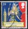 GB SG1628 1992 Gilbert and Sullivan 39p used FILLER